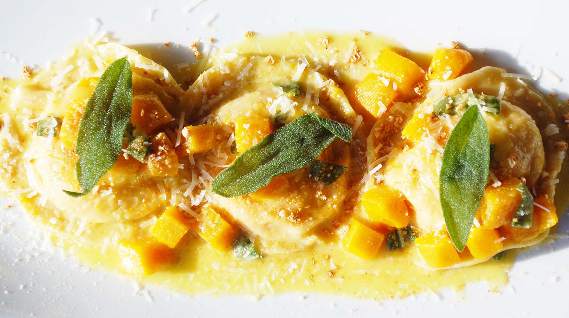 Pumpkin Ravioli