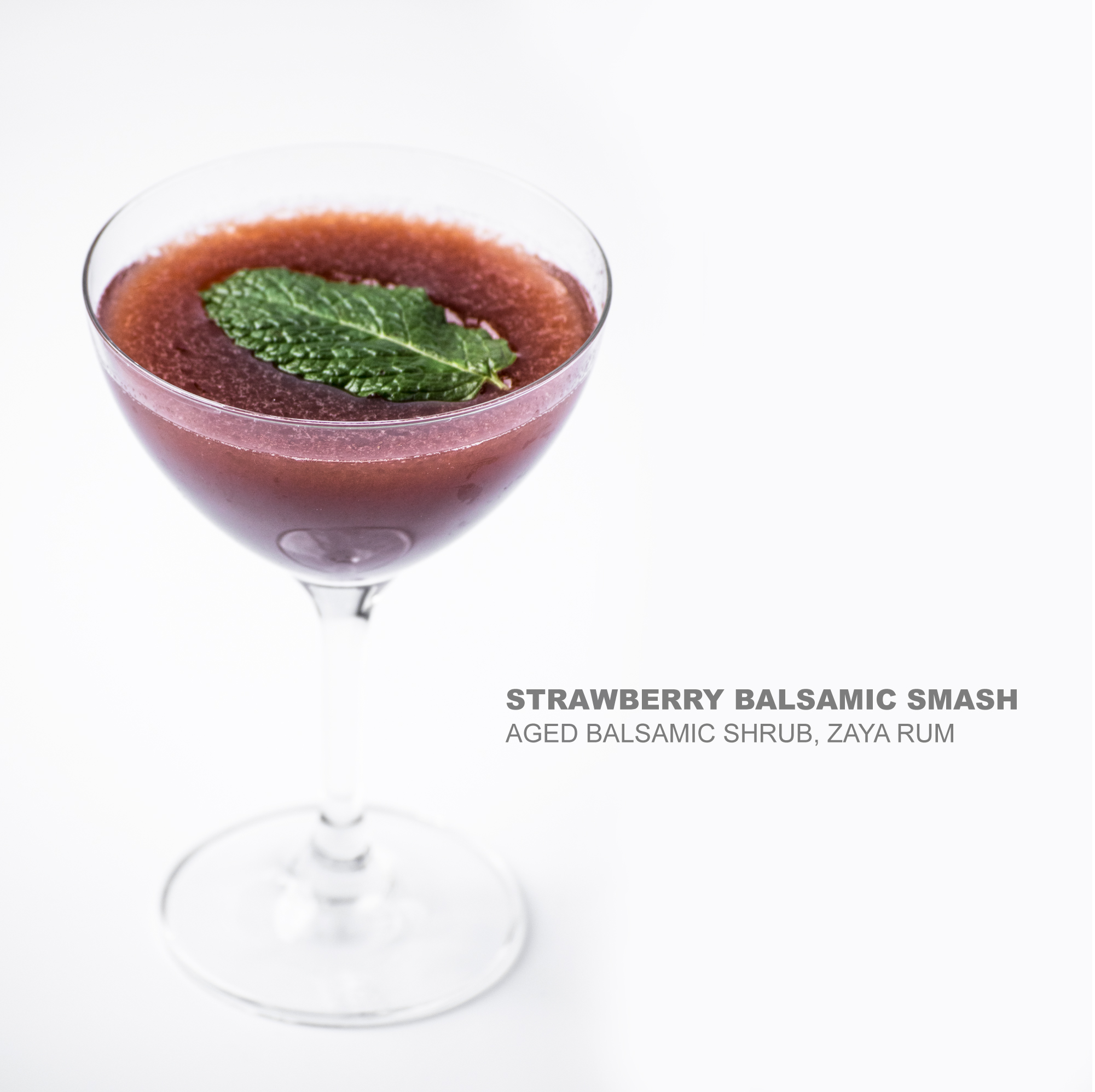 Strawberry Balsamic Smash | LockKeepers | Fine Dining ...